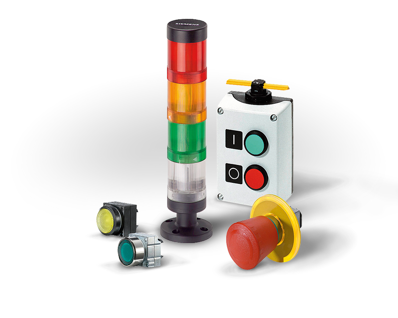 Industrial Controls Circuit Protection Push Buttons Pilot Lights Stack Lights