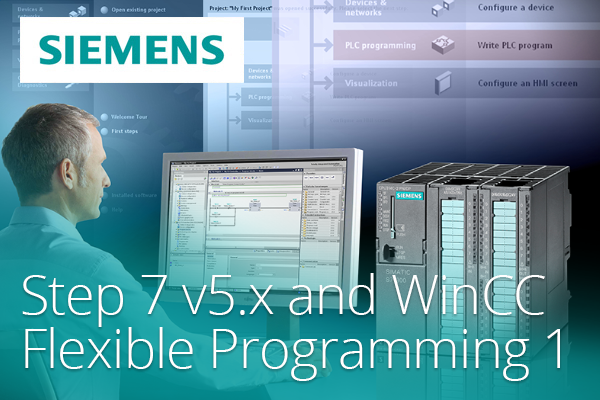 Siemens Step 7 v5.x and WinCC Flexible Programming 1