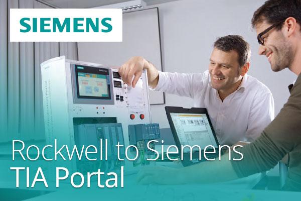 Rockwell to SIEMENS TIA Portal