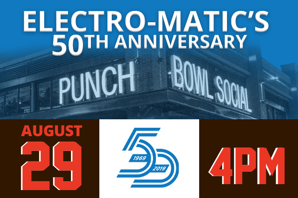 Electro-Matic's 50th Anniversary Celebration - Cleveland