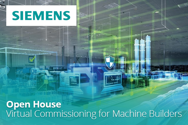Open House: Virtual Commissioning for Machine Builders